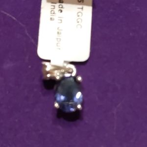 Bengal Iolite Sterling Silver 1.39 ct. pendant